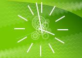 Green watch — Stock Vector