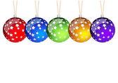 Рождество шары — Cтоковый вектор