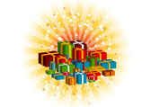 Gifts — Vector de stock