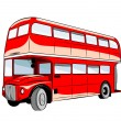 Stock Vector: Bus