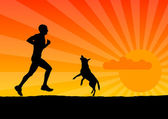 Run — Stock Vector