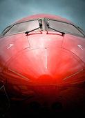 Гражданская авиация — Стоковое фото