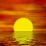 Horizont - Sonnenuntergang — Stockfoto #2258776