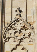Gothic arch — Stock Photo