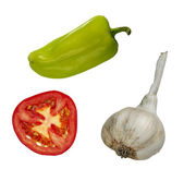 Isolated - vegetables — Stock Photo