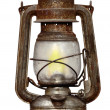 Time-worn kerosene lamp — Stock Photo #2430503