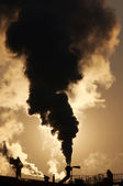 Gaseous air pollution — Stock Photo
