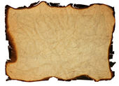 Old grunge paper with burned edges — Stock Photo