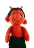Little devil - hand puppet — Stock Photo