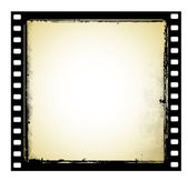 Old film frame in grunge style — Stock Photo
