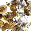 Pinions - clockwork mechanism — Stock Photo