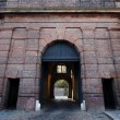Brick gate - bastion of the Vysehrad — Stock Photo