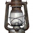 Time-worn kerosene lamp — Stock Photo #2566381