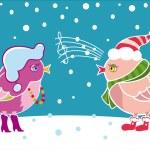 Winter birds — Stock Vector #2194227
