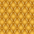 Gold upholstery — Photo