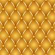 Gold upholstery - Stock Photo