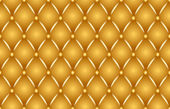 Gold upholstery — Stock Photo