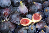 Figs background — Stock Photo