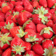 Strawberry background - Stok fotoğraf
