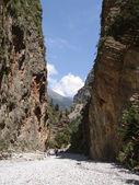 Samaria Gorge — Stock Photo