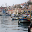 Poros waterfront — Stock Photo