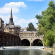 Pulteney bridge and weir — Stock Photo #2315701