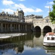 Foto Stock: River Avon, Bath