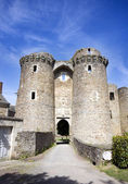Chateau entrance — Stock Photo