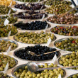 Olive varieties - Stock Photo