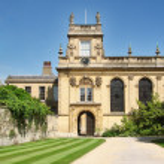Trinity college, Oxford — Stock Photo