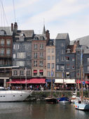 Boats at Honfleur — Stock Photo