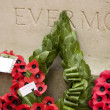 Stock Photo: Poppy wreaths