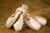 Ballet shoes — Fotografia Stock