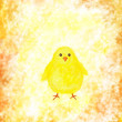 Easter chick - Foto de Stock