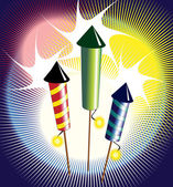 Fireworks — Vecteur