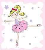 Ballerina — Stock Vector