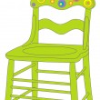 Vector illustration of chair — Stock Vector