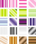 Vector gradient pattern — Stock Vector