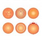 Vector balls — Stock Vector