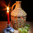 Old demijohn — Stock Photo