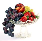 Bowl of fruits — Stock Photo