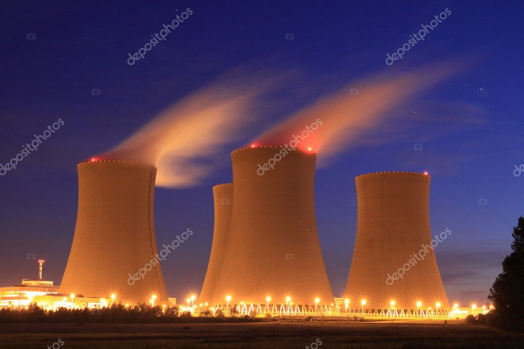 View of  nuclear plant  — Stock Photo #2269281