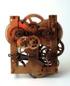 Old clock machine — Stock Photo