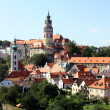 Stock Photo: Old castle In Krumlov