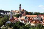 Old castle In Krumlov — Stock Photo