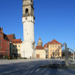 Stock Photo: Skew tower of Bautzen