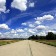 Stock Photo: Old runway