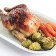 Roast chicken — Stock Photo #2326436