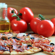 Traditional pizza — Stock Photo