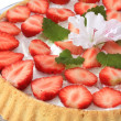 Strawberry cake — Stockfoto